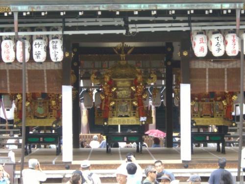 八坂神社お神輿